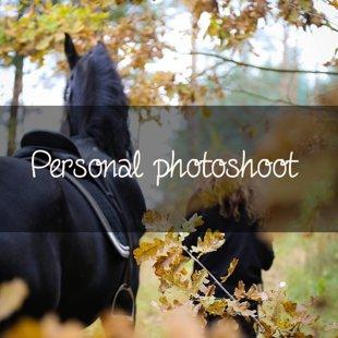 Personal photoshoot
